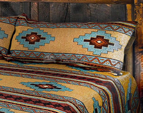 King Size Pillow Sham -Matches Saltillo Bedspread