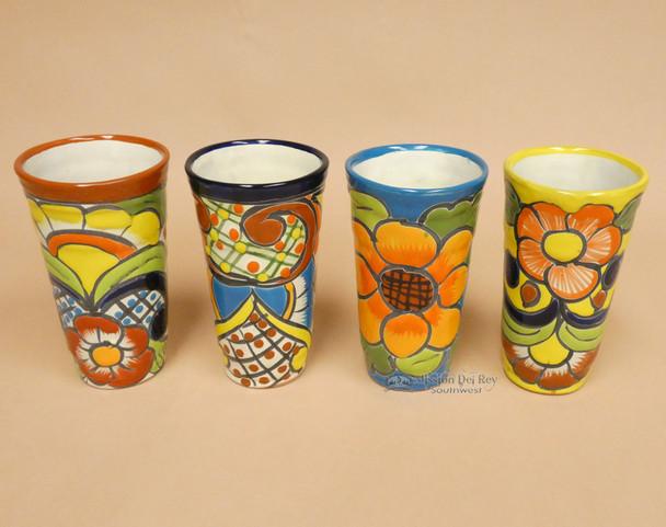 Hand Painted Talavera Cup 4 Piece Set