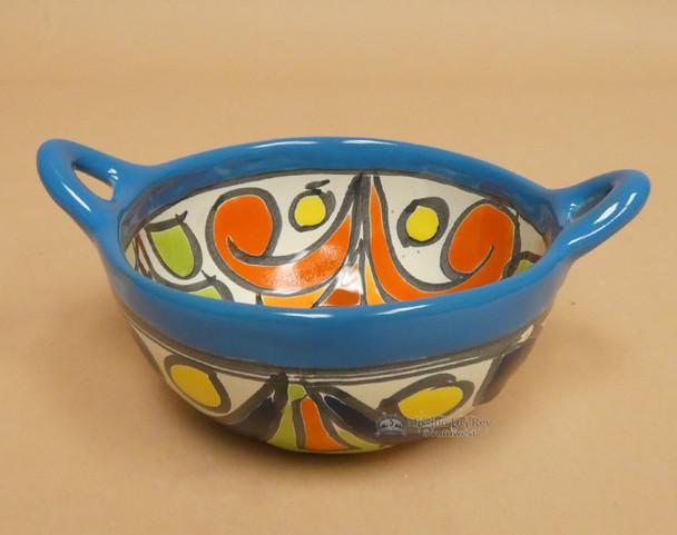Hand Painted Mexican Talavera Salsa Bowl