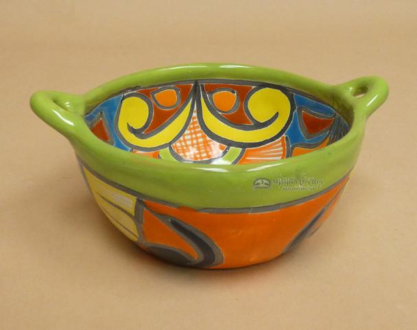 Hand Painted Mexican Talavera Salas Bowl