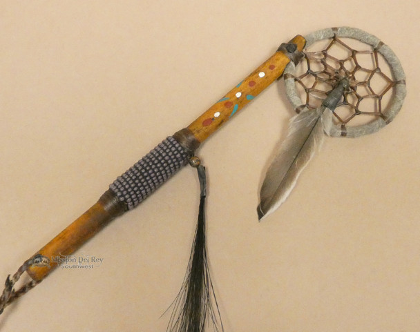 Native American Dreamcatcher Spirit Stick Purple