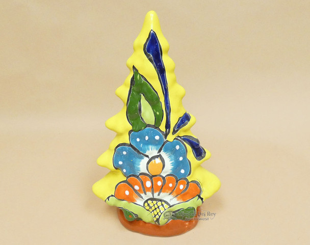 Hand Painted Talavera Ceramic Christmas Tree