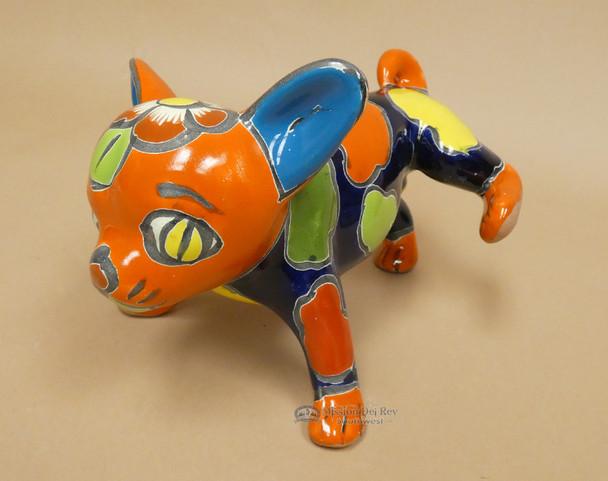 Hand Painted Talavera Dog