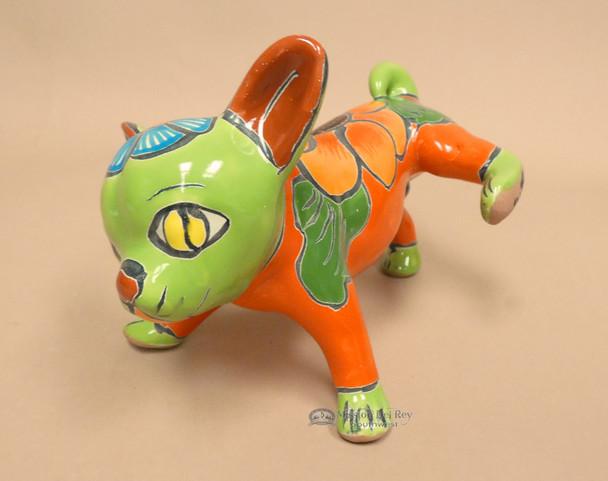 Handpainted Mexican Talavera Pottery Dog