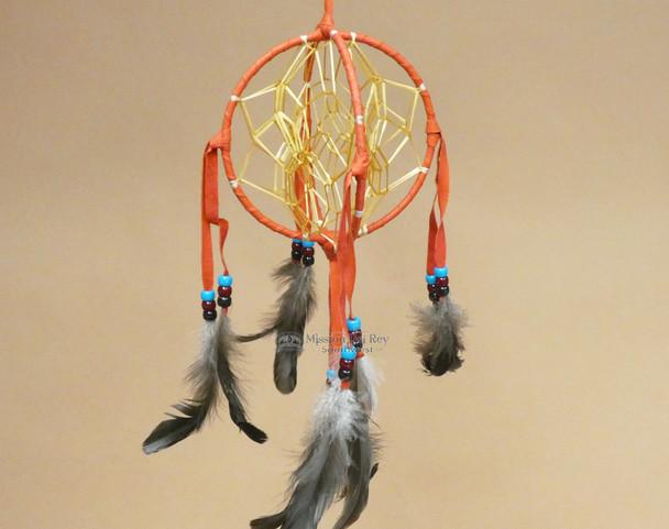 3D Native American Dreamcatcher - Red