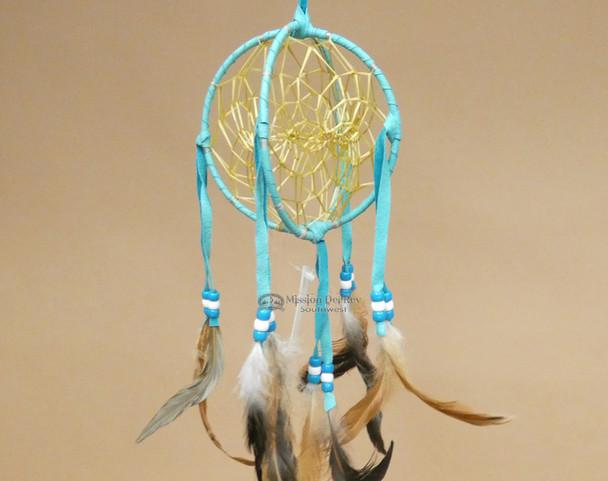 Hand Woven 3D Native American Dreamcatcher -Navajo