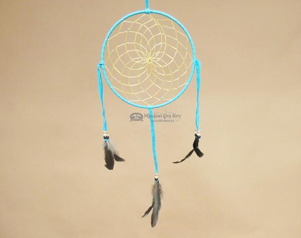 "Native American Dream Catcher 8"" -Turquoise"