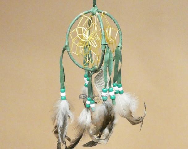 Hand Woven 3D Double Dreamcatcher -Navajo