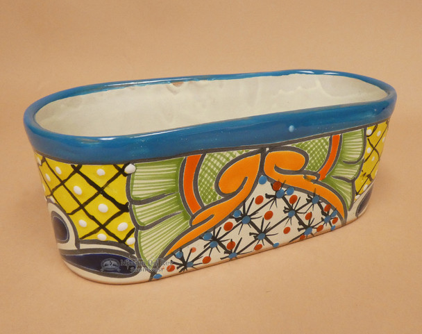 Hand Painted Mexican Talavera Planter