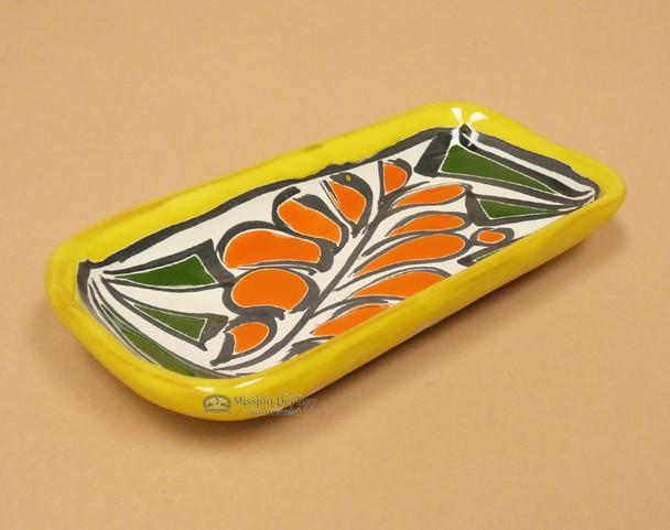 Hand Painted Mexican Talavera Tray
