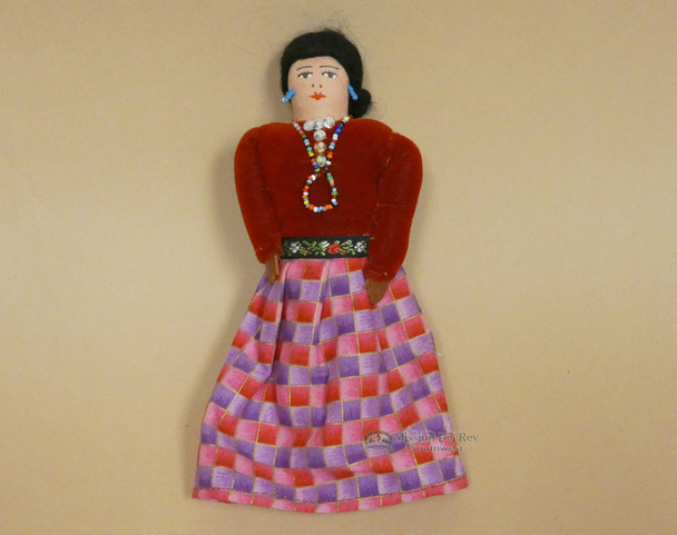 Handmade Western Navajo Dress Doll