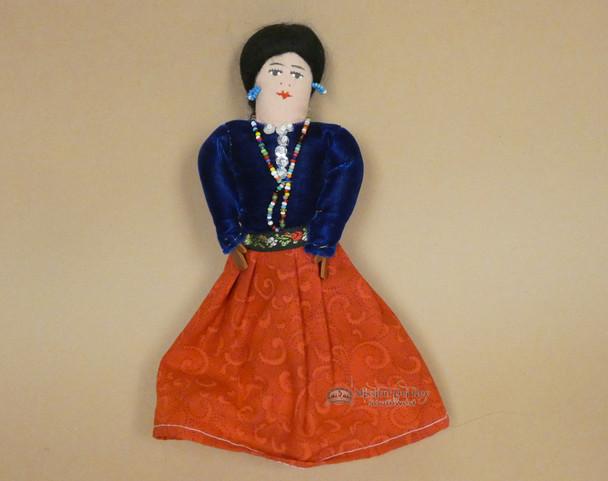 Handmade Rustic Navajo Dress Doll