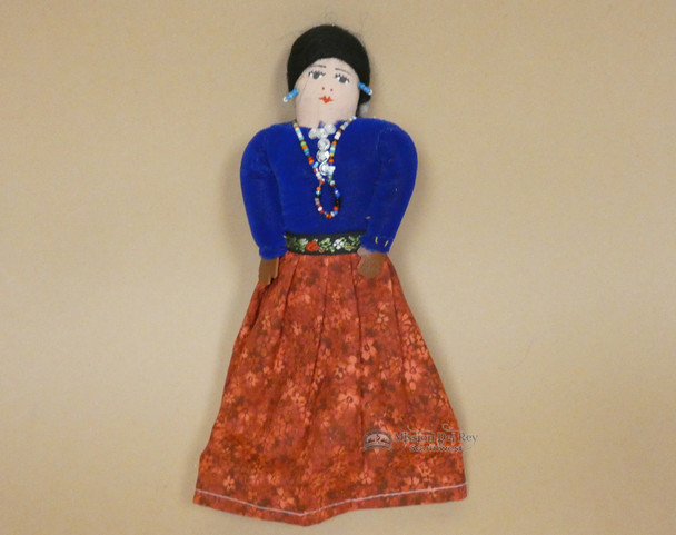 Traditional Handmade Navajo Dress Doll
