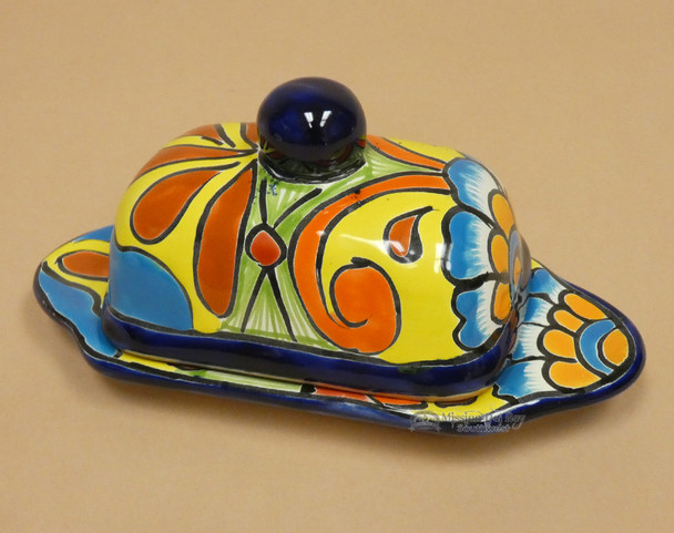 Hand Painted Talavera Butter Dish