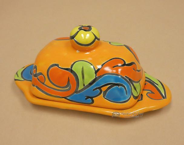 Hand Painted Talavera Butter Dish