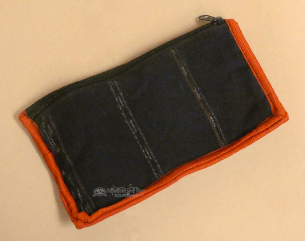 Backside Features A Zippered Compartment