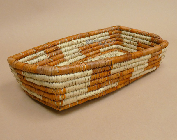 Handwoven Western Style Palm Basket