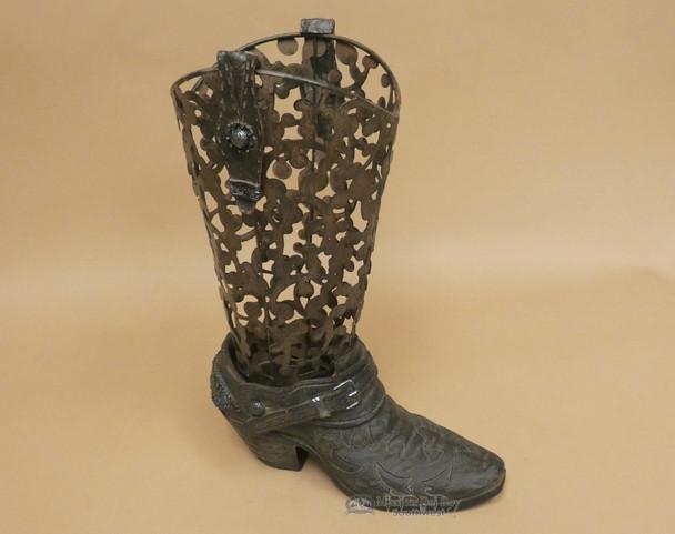 Rustic Western Metal Art -Cowboy Boot