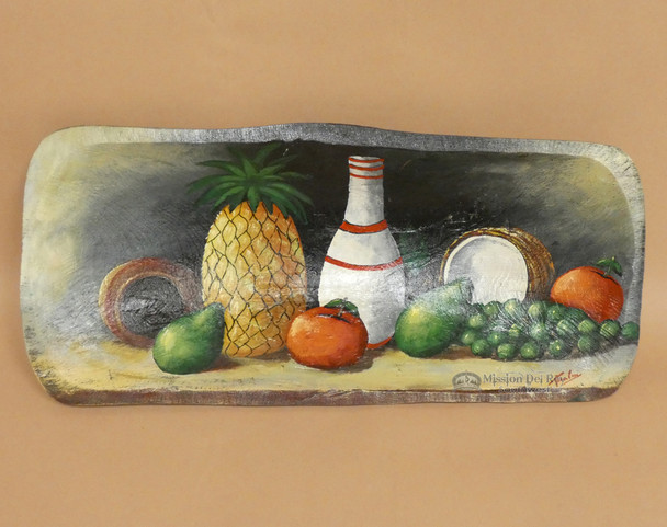 Hand Painted Bowl - Tropical Fruit