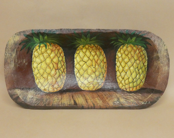 Hand Painted Bowl - Pineapple