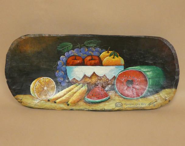 Hand Painted Bowl - Cut Fruit