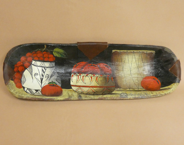 Hand Painted Bowl - Apples