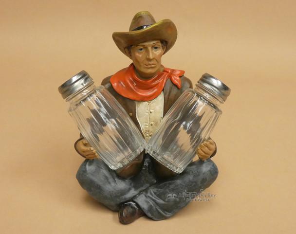 Western Cowboy Salt & Pepper Shakers