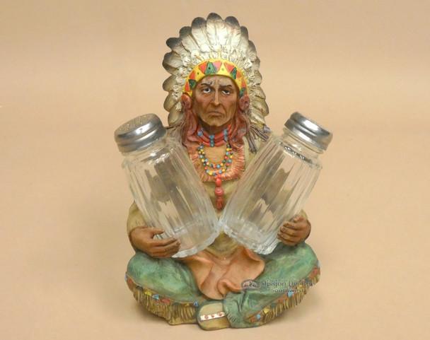 Western Indian Salt & Pepper Shakers