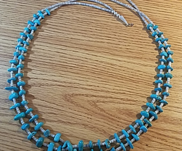 Native American Hishi Beaded Necklace