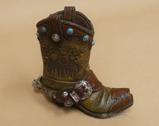 Western Cowboy Pencil Holder -Boot