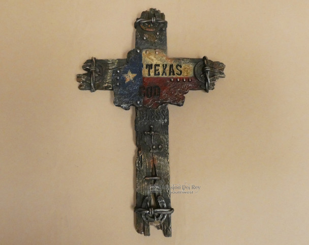 Rustic Western Texas Wood Cross