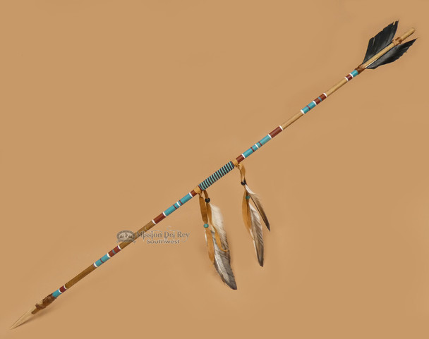 Decorative Painted Arrow - Navajo