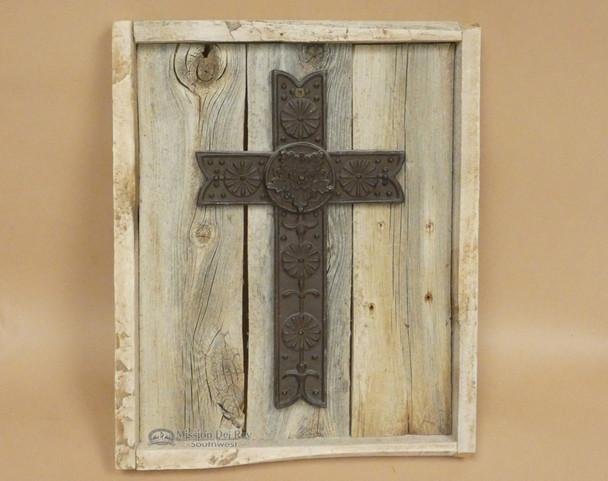 Wood & Cast Iron Cross