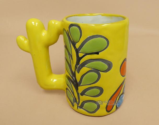 Rustic Hand Painted Talavera Mug
