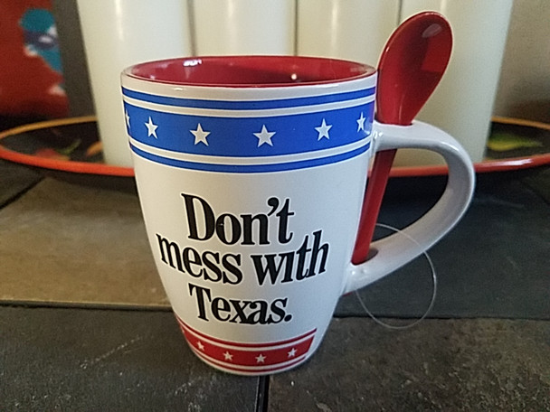Don't Mess With Texas Coffee Cup