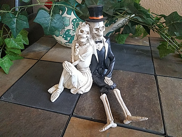 Day of the Dead -Skeleton Couple