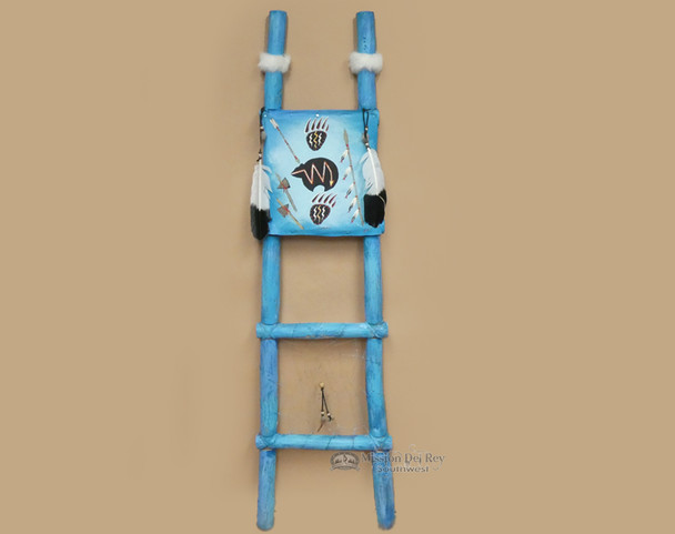 Tarahumaran Hand Painted Dreamcatcher Ladder