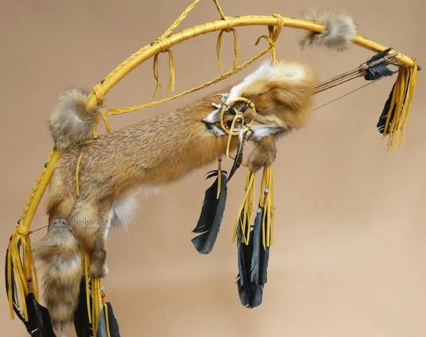 Bow & Fox Pelt Quiver Set -Gold