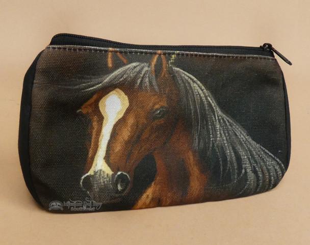 Digital Print Cosmetic Bag -Horse