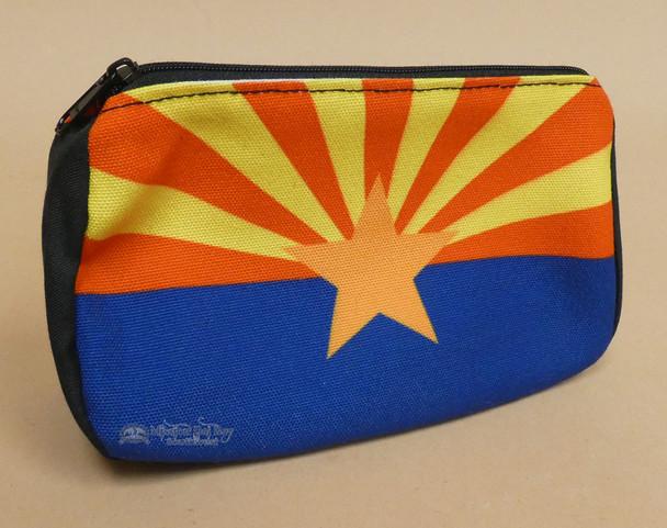 Digital Print Cosmetic Bag -Arizona Flag