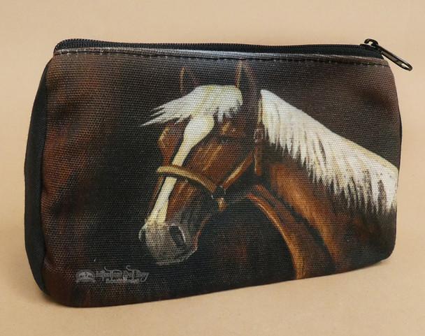 Digital Print Cosmetic Bag -Mustang