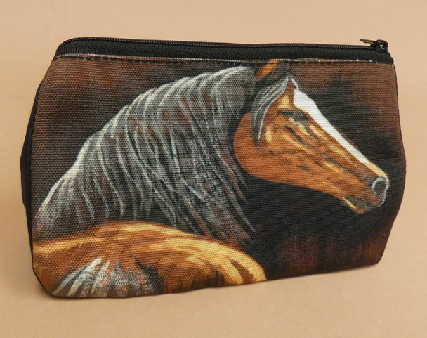 Digital Print Western Cosmetic Bag -Mare