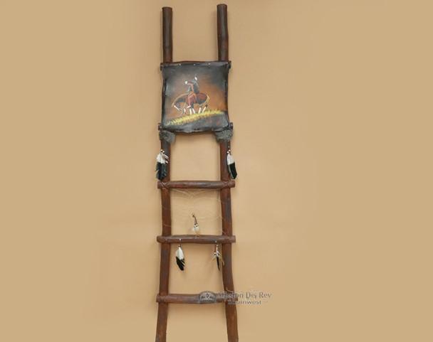 Tarahumara Painted Kiva Ladder -End of Trail