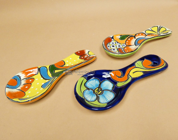 Hand Painted Talavera Spoon Rest