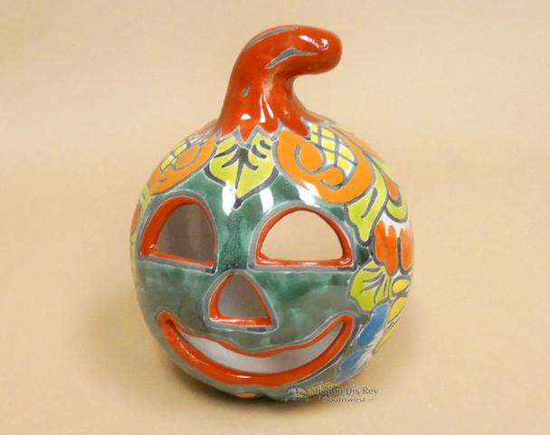 Hand Painted Talavera Jack O'Lantern