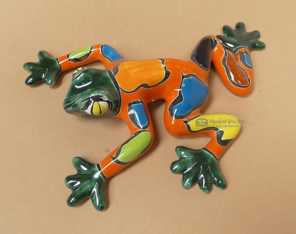 Hand Painted Talavera Frog