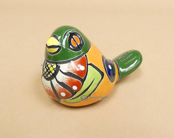 Mexican Hand Painted Talavera Bird
