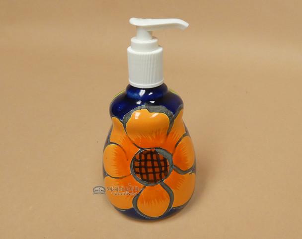 Hand Painted Talavera Soap Dispenser