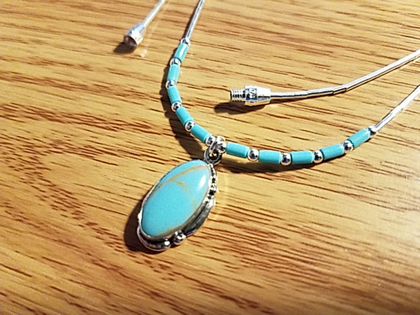 Southwest Sterling Silver Necklace