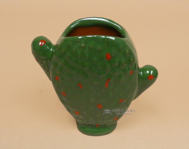Hand Painted Talavera Cactus Cup